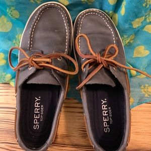 Men's Sperry Top Sider Blue Boat Shoes
